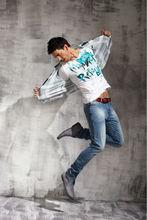 Lasted Design 100%Cotton Denim Mens Jeans Cheap Wholesale Men Pants Jeans PM011C