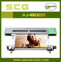 Eco solvent Large Format Printer Dx5 Head plotter solvent