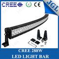 Hot vente 12v 2014 nouveau type led light bar courbes. led antibrouillard bar imperméable à l'eau barre lumineuse led cree