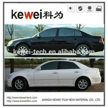 Kewei 99%UVR glass heat protection film for car window film,Anti-UV plastic film for car