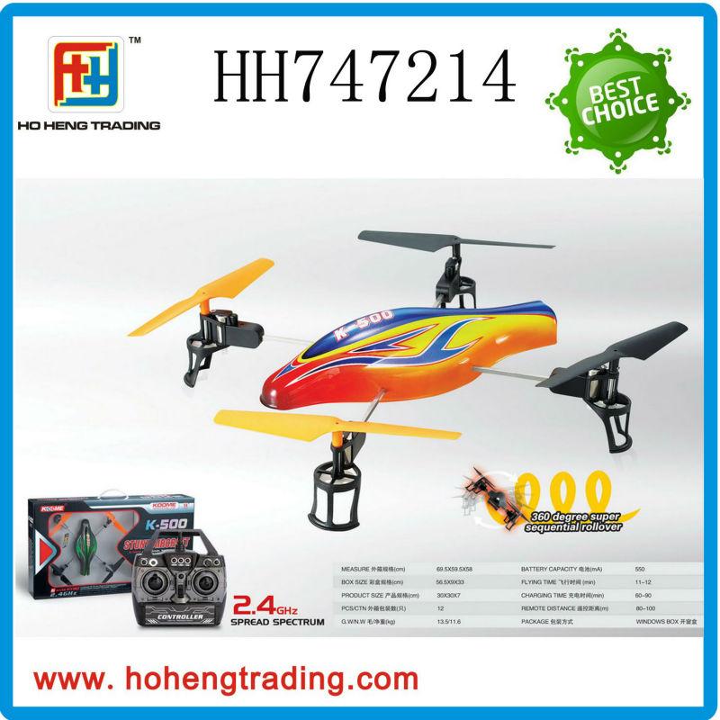 2.4G stunt aircraft 2.4G quadcopter 2.4G UFO