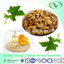 Pumpkin seed oil capsule softgel