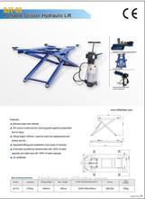 Car Lift hoist Portable Scissor Hydraulic 1400mm lifting height