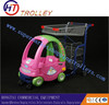 Toy Car Shopping Carts For Baby In Supermarket