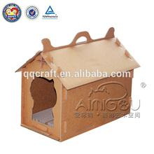 Christmas promotion popular cardboard cat house