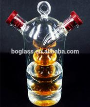 glass cruet oil vinegar