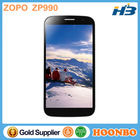 """China Brand Name Mobile Phone ZP990 High-Resolution Camera Mobile Phone 6.0"""" MTK6592 Octa Core 1.7Ghz Android 4.2"""