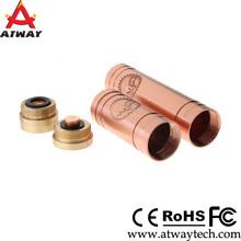 Search products e cigarettes mehcanical mod clone 18350/18650 battery vanilla copper mods