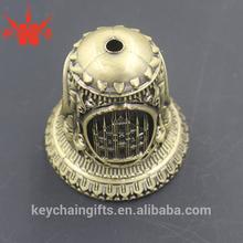 Custom engrave antique church brass bell