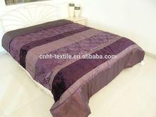 jacquard fabric ruffle patchwork comforter set