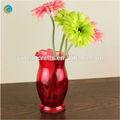 Antiques vases en verre murano/bambou arrangements floraux/vase en céramique en forme de poisson