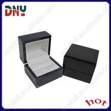 Engagement or Wedding Ring Wood Box , Loving Ring Box