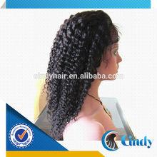 natural black indian human hair invisible part custom made kinky curl wig