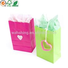 Popular new design paper bag for clothes pacakging