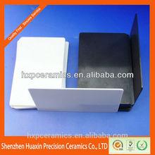 Alta resistencia al desgaste indstrial zirconia de cerámica placa, Zirconia de cerámica del azulejo