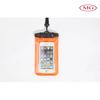 100% waterproof PVC mobile phone bag for diving sport