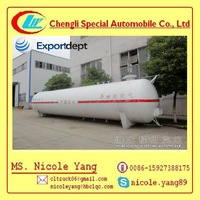 50000L Pressure vessel lpg gas tank container lpg gas tank for sale