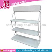 MX-MT012 Simple metal display shelf/ sample display metal racks