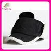 wholesale russia winter sport baseball cap with ear muff