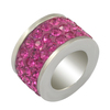 wedding crystal sliders beads shining jewelry beads