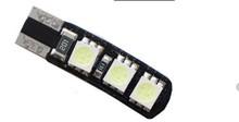 Hotsale 6smd 5050 automotive bulb t10 led