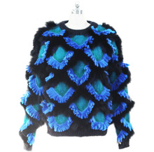 2014 newly design top blue winter coat china online shopping