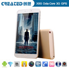 8 inch Octa core 3G android brand tablet pc unlocked gsm tablets