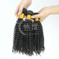 Wholesale Cheap Good Hair Distributors 100%Unprocessed Remy Human Hair Raw Filipino Virgin Kinky Curl Hair Extensions