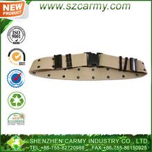 el color bronceado estilos militar correa de nylon web