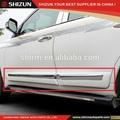 2014 para toyota fj200 del cuerpo del coche lado de moldeo estilo original de las piezas del coche accesorios accesorios de automóviles toyota corolla
