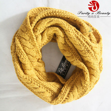 2014-2015 Winter New Products La Beau Acrylic Plain Pattern Solid Knit Scarves
