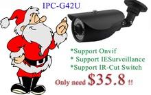 "Christmas Onvif 1/2.5"" Sony 5 Megapixel CMOS Image sensor convert cctv 3 megapixel, IR range:40M IP66 3 megapixel ip tech cctv"