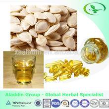 Health food herbal extract pumpkin seed oil softgel capsule