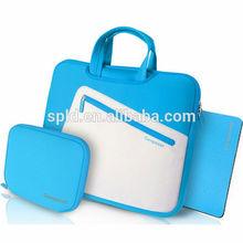 New arrival Contrast color Unisex style wholesale fashion neoprene laptop bag