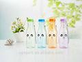 2014 Hot sale e cute design clear plastic water bottles 550ml