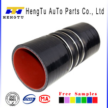 High performance blue and black fuel hose fittings