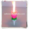 de alta calidad vela de cumpleaños de fuegos artificiales