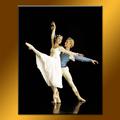 venta al por mayor hecho a mano abstracto bailarina de ballet de la pintura