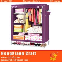 Popular Durable Assemble Fabric Wardrobe