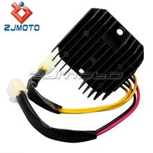 ZJMOTO custom motorcycle parts voltage regulator rectifier for SV400 Import, LS650 Savage SV650 (pre 2004) VX800