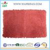 machine made microfiber chenille brown anti slip adult mat
