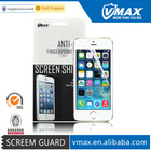 Promotional Washable Cell Phone LCD Display For iPhone 5s screen protector with best material