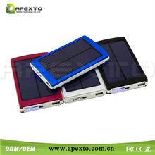 Emergency charging OEM/ODM solar power bank, solar power bank charger, power bank solar