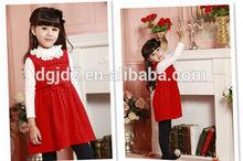 Kızlar sonbahar kış yapımı şerit 3 renk tek parça elbise, kaliteli kolsuz sonbahar giyim