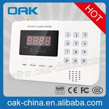 high quality gsm/pstn burglar alarm for home office shop etc.
