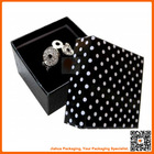 square shape jewelry gift box packaging and printing