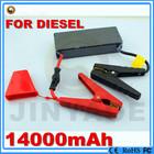 2014 hot sale mini Diesel/Gasoline lithium battery power bank auto emergency start power