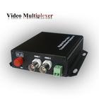 Rack mount single mode dual fiber 2 channel optical audio converter