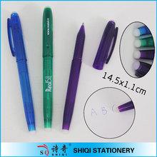fashion design word removable promotional plastic pen