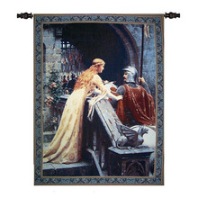 queen and Knight wall hanging carpet tapestry